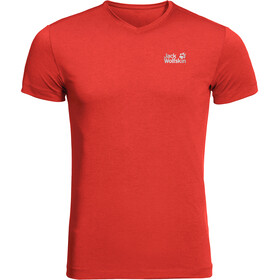 Jack Wolfskin JWP T-Shirt Heren, lava red